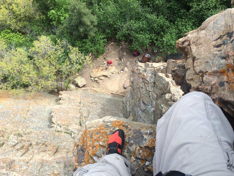 Rock Climbing Photo: Big Cottonwood