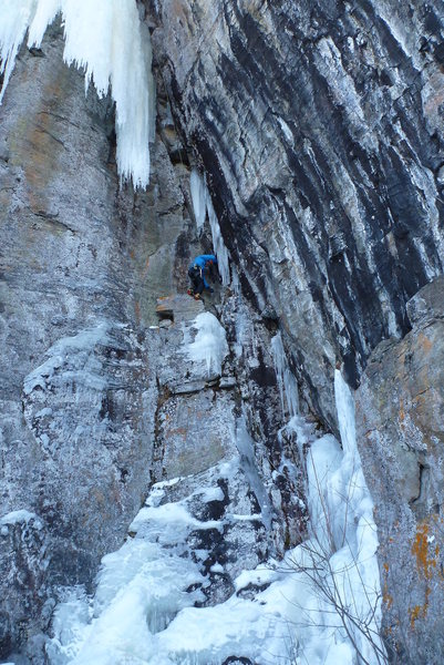 Rock Climbing Photo: mixing it up
