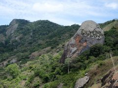 Rock Climbing Photo: Rock next to Torre Mingos (seen from base of Torre...