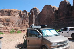 Rock Climbing Photo: In Moab