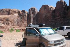 Rock Climbing Photo: In Moab