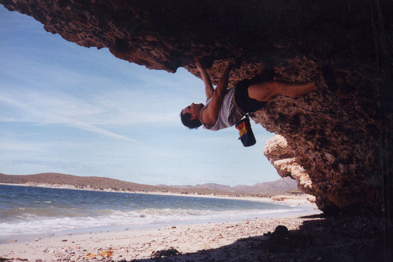 Rock Climbing Photo: San Carlos Son Mexico Climber: Olaf Mitchell Photo...