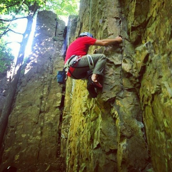 Rock Climbing Photo: NJ
