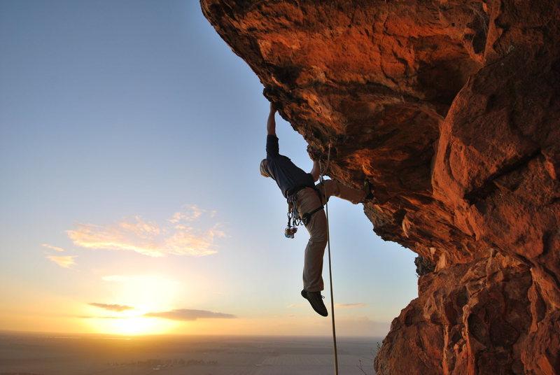 Rock Climbing Photo: Mt Arapalies VIC Australia