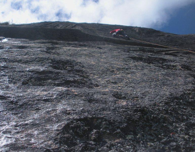 Rock Climbing Photo: Not the cover shot.