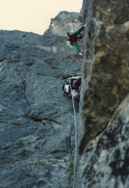 Rock Climbing Photo: Dihedral Fun