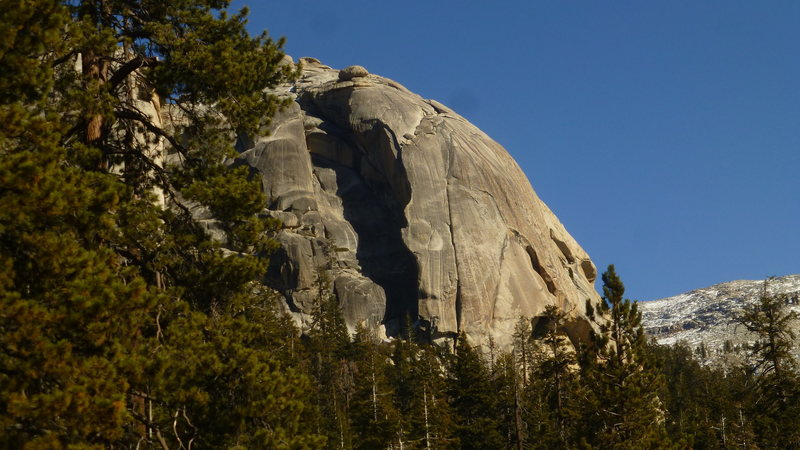 Rock Climbing Photo: Another view of the Lower Tokopah Dome and the rou...