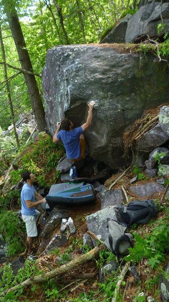 Rock Climbing Photo: Blair.
