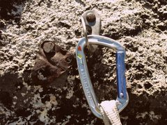 Rock Climbing Photo: Hmm...