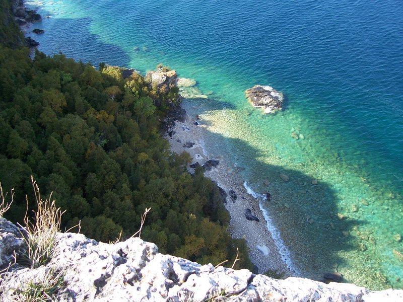 Rock Climbing Photo: 2009.10.10 - Bruce Peninsula National Park, Lion's...