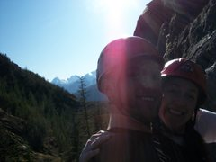 Rock Climbing Photo: 2010.03.6 - Cheakamus Canyon, near Squamish, BC, C...