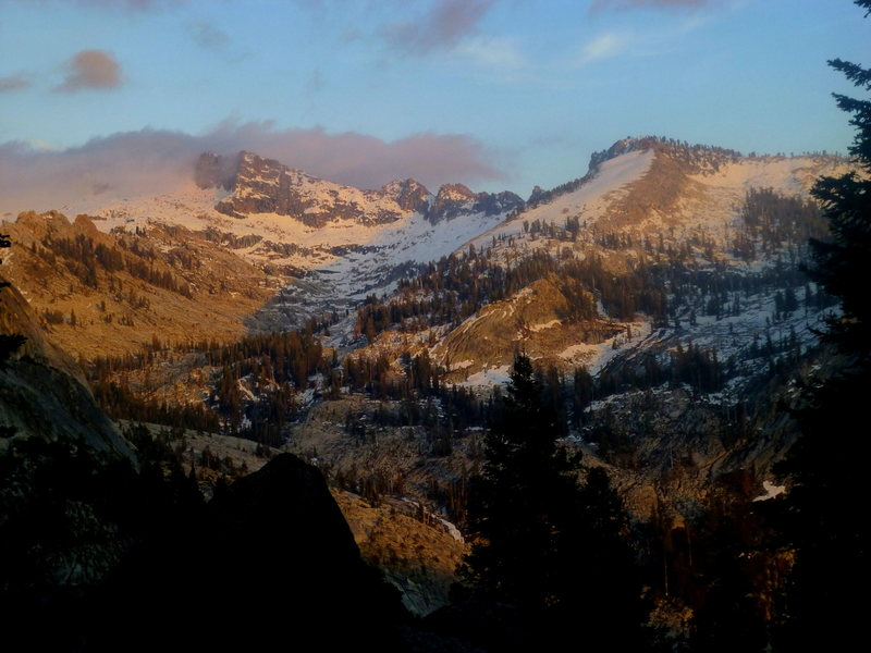 Rock Climbing Photo: View of Alta Peak