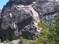 Rock Climbing Photo: Jeremy on Gum Drop Arete