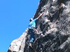 Rock Climbing Photo: Matt on Kung Fu Panda