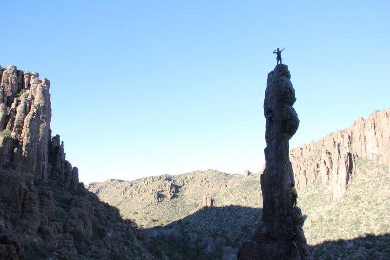 Rock Climbing Photo: The Totem Pole