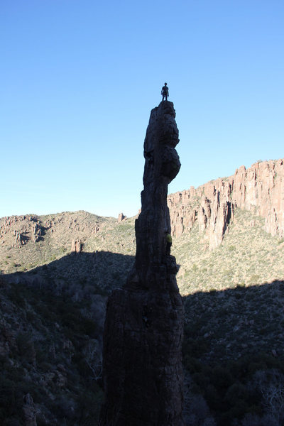 Rock Climbing Photo: Atop The Totem Pole via Pathological Optimist whic...