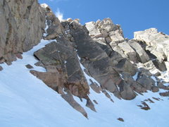 Rock Climbing Photo: Good view of the 3rd runnel.