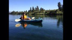 Rock Climbing Photo: Kayaking local