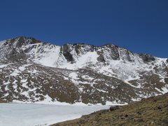 Rock Climbing Photo: The Summit Lake Cirque.  Pink - Lazy is Lazy Does....