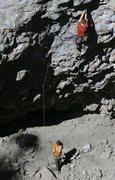 Rock Climbing Photo: Chris Ticknor getting a belay from Daniel Trugman ...