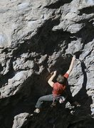 Rock Climbing Photo: Chris Ticknor on Loose Cannon.
