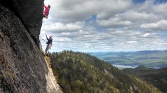 Rock Climbing Photo: The A0 section. P.s. PM me if you are the two guys...