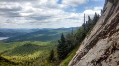 Rock Climbing Photo: Views are superb! This is the first slab you'll en...