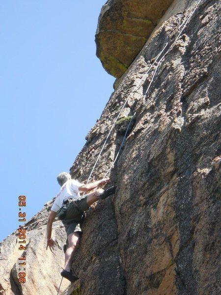 Rock Climbing Photo: Michel Forkcray on, Bitch Stewie.5.11+ Family Guy ...