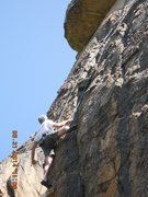 Rock Climbing Photo: Michel Forkcray on, Bitch Stewie.5.11+ Family Guy ...
