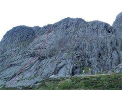 Rock Climbing Photo: General line of Cyclops