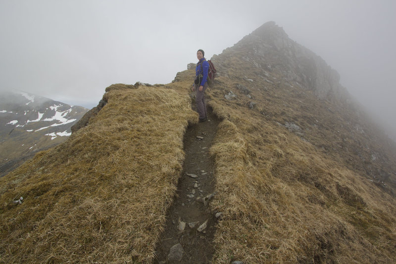At the Ring of Steall hike, Scotland
