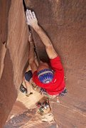 Rock Climbing Photo: The Doctor works Cement Shoes the day before the s...