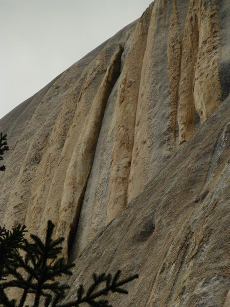 The Crux of the route. 60m OW AKA The Beast :)