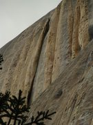 Rock Climbing Photo: The Crux of the route. 60m OW AKA The Beast :)
