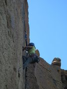 Rock Climbing Photo: Karate Crack 5.10a