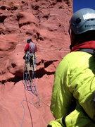 Rock Climbing Photo: Weird shenanigans on the final pitch.