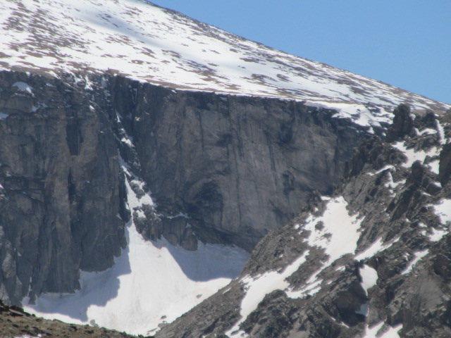 Rock Climbing Photo: Black Wall.