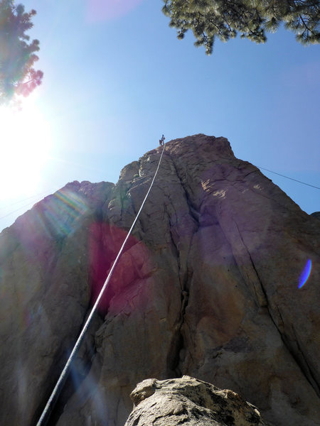 Rock Climbing Photo: completion (top-rope)
