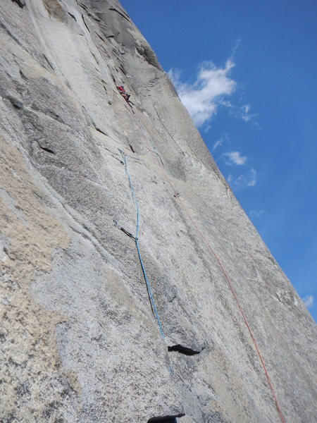 Rock Climbing Photo: .....