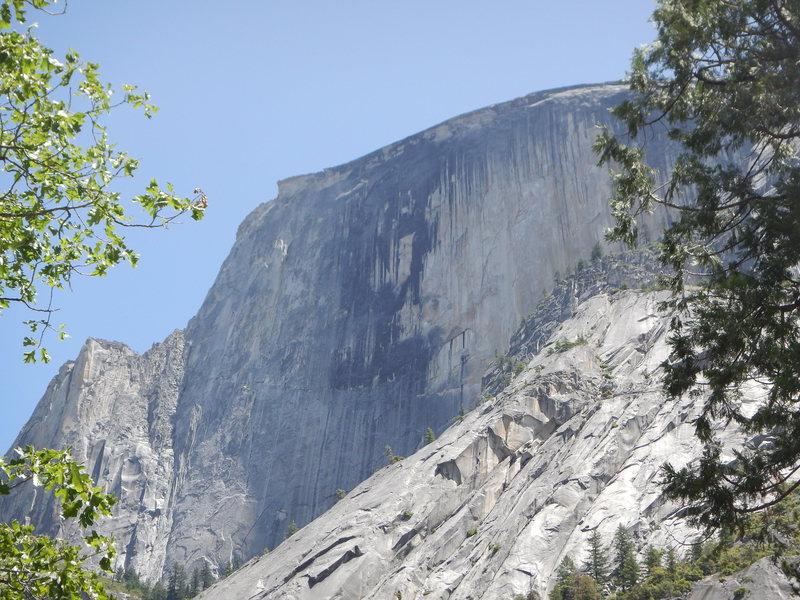 Rock Climbing Photo: death slabs approach