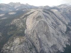 Rock Climbing Photo: looking down on Mt. Watkins