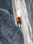 Rock Climbing Photo: following the thank god ledge pitch