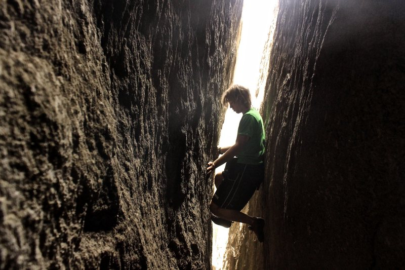 """In """"The Caverns"""" on pitch 3"""