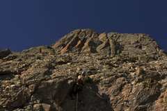 Rock Climbing Photo: Pulling tough moves halfway up instead of walking ...
