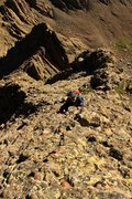 Rock Climbing Photo: A section of awesome climbing on really solid cong...
