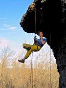 Rock Climbing Photo: A satisfying send!