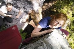 Rock Climbing Photo: Morpheus boulders