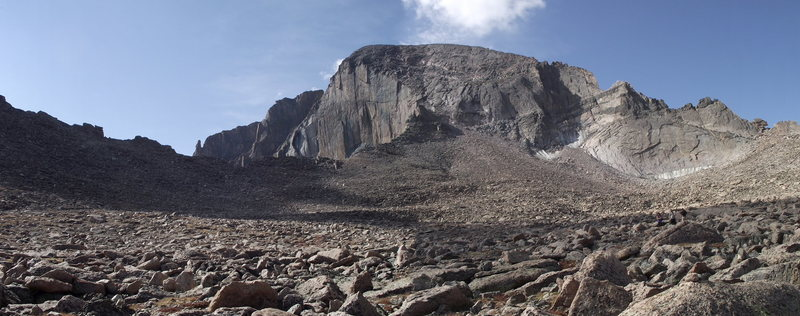 Long's Peak and the Boulder Field