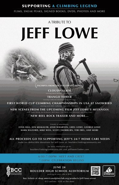 Jeff Lowe tribute poster.