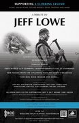 Rock Climbing Photo: Jeff Lowe tribute poster.